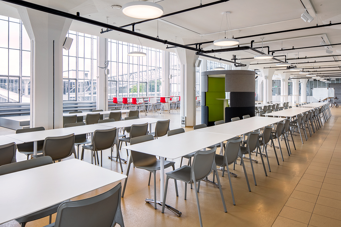 Canteen Project Conference Chairs Chassis Ceno And