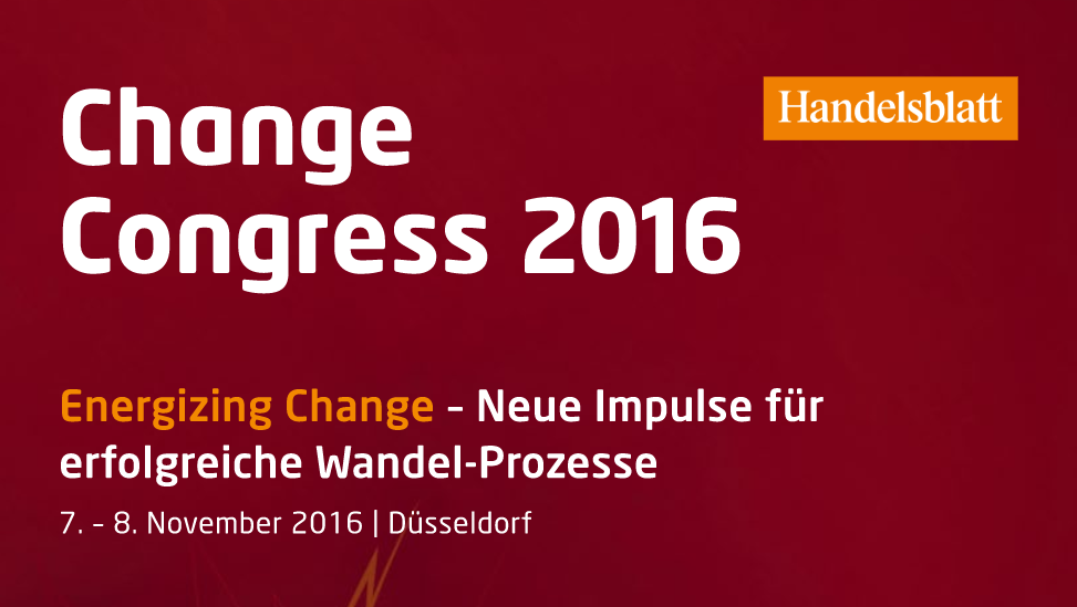 Change Congress 2016 mit Wilkhahn