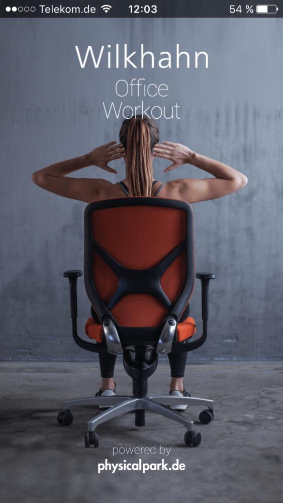 Wilkhahns Neue Fitness App