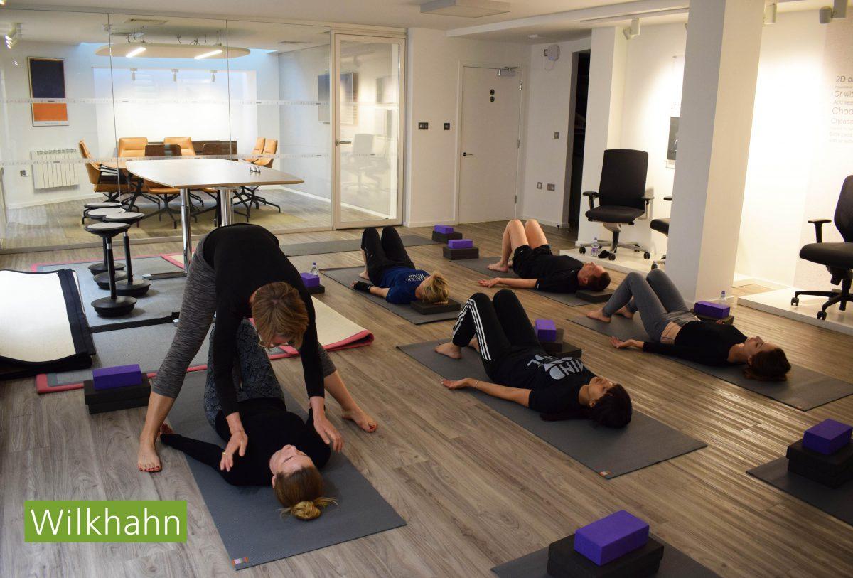 Wilkhahn Yoga Class