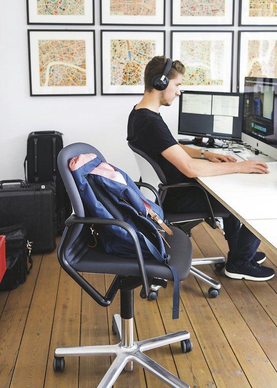 Wilkhahn chair at work