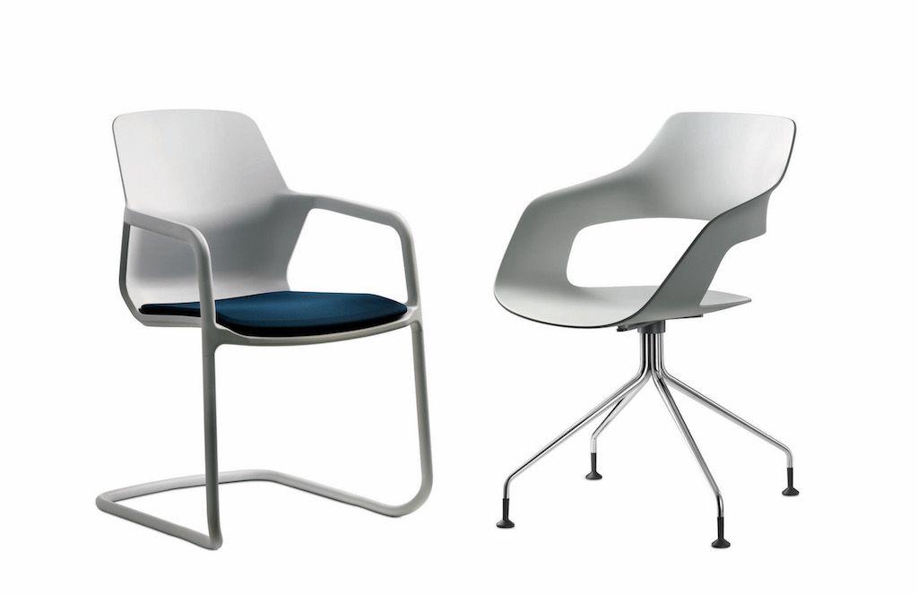 Los video clips explican la idea detrás de las sillas Metrik y Occo
