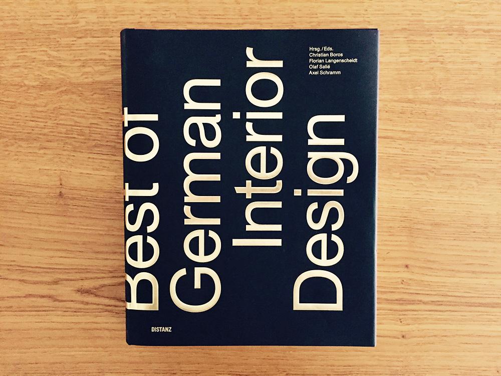 Cover:Best of German Interior Design