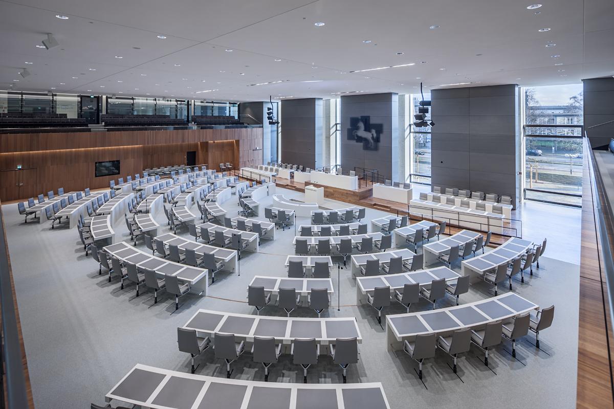 Parlement Basse-Saxe Blocher Partners Sola siège conférence Parlement