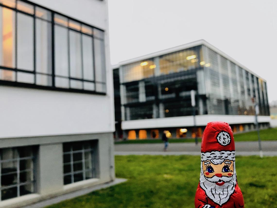 Vorweihnachtlicher Ausblick Auf Das Bauhausjubiläumsjahr