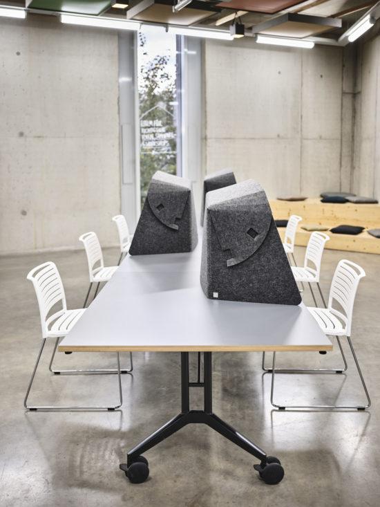 Wilkhahn's Fold-up Workspace